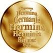 Česká jména - Hermína - zlatá medaile