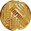 Česká jména - Hermína - velká zlatá medaile 1 Oz