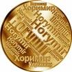 Česká jména - Horymír - velká zlatá medaile 1 Oz