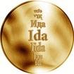 Česká jména - Ida - zlatá medaile