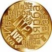 Česká jména - Iva - velká zlatá medaile 1 Oz