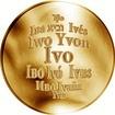 Česká jména - Ivo - zlatá medaile