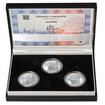 JOSEF BOŽEK – návrhy mince 200,-Kč - sada tří Ag medailí 1 Oz Proof