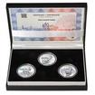 KAREL JAROMÍR ERBEN – návrhy mince 500,-Kč - sada tří Ag medailí 1 Oz
