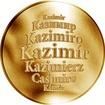 Česká jména - Kazimír - zlatá medaile
