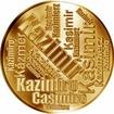 Česká jména - Kazimír - velká zlatá medaile 1 Oz