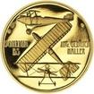 Letadlo Bohemia - 1/2 Oz zlato Proof