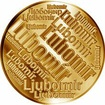 Česká jména - Lubomír - velká zlatá medaile 1 Oz