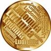 Česká jména - Ludmila - velká zlatá medaile 1 Oz
