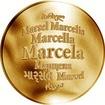 Česká jména - Marcela - zlatá medaile