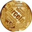 Česká jména - Marcela - velká zlatá medaile 1 Oz