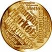 Česká jména - Markéta - velká zlatá medaile 1 Oz