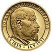 70 let od úmrtí Tomáše Garrigue Masaryka - zlato b.k.