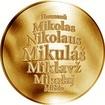 Česká jména - Mikuláš - zlatá medaile