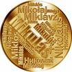 Česká jména - Mikuláš - velká zlatá medaile 1 Oz