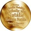 Česká jména - Natálie - velká zlatá medaile 1 Oz
