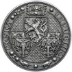 Nejkrásnější medailon - Nové Město pražské Ag Patina