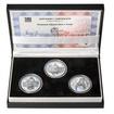 POSTAVEN OBECNÍ DŮM V PRAZE – návrhy mince 200,-Kč - sada tří Ag medai