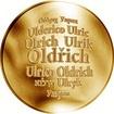 Česká jména - Oldřich - zlatá medaile