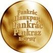 Česká jména - Pankrác - zlatá medaile