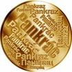 Česká jména - Pankrác - velká zlatá medaile 1 Oz