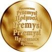 Česká jména - Přemysl - zlatá medaile