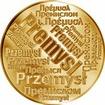 Česká jména - Přemysl - velká zlatá medaile 1 Oz