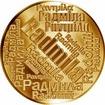 Česká jména - Radmila - velká zlatá medaile 1 Oz