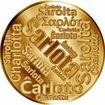 Česká jména - Šarlota - velká zlatá medaile 1 Oz
