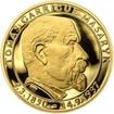 70 let od úmrtí Tomáše Garrigue Masaryka - zlato Proof