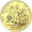 Tři králové 25 mm zlato Proof
