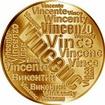 Česká jména - Vincenc - velká zlatá medaile 1 Oz