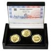 ALOYS KLAR – návrhy mince 200 Kč - sada 3x zlato b.k.