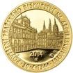 Povýšení pražského biskupství na arcibiskupství - 670 let - 1/2 Oz zlato Proof