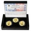 BEDŘICH HROZNÝ – návrhy mince 200 Kč - sada 3x zlato b.k.