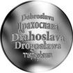 Česká jména - Drahoslava - stříbrná medaile