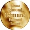 Slovenská jména - Edmund - zlatá medaile