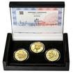 JAN PERNER – návrhy mince 200 Kč - sada 3x zlato b.k.