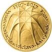 Vysvěcení kaple sv. Václava v katedrále sv. Víta - 650. výročí zlato proof