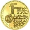 Zlatá bula sicilská - 805. výročí vydání zlato b.k.