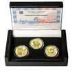KRYŠTOF HARANT Z POLŽIC A BEZDRUŽIC – návrhy mince 200 Kč - sada 3x zlato Proof
