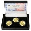 RABÍ JEHUDA LÖW – návrhy mince 200 Kč - sada I. 3x zlato Proof