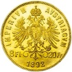 8 Zlatník - 20 Frank - Investiční zlatá mince