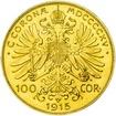 100 Korun - Investiční zlatá mince