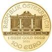 Wiener Philharmoniker  1 Oz - Investiční zlatá mince