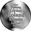 Česká jména - Roland - stříbrná medaile