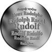 Česká jména - Rudolf - stříbrná medaile