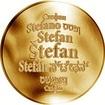 Česká jména - Štefan - zlatá medaile