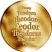 Česká jména - Teodor - zlatá medaile