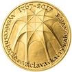 Vysvěcení kaple sv. Václava v katedrále sv. Víta - 650. výročí zlato b.k.